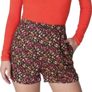 American Apparel High-Waisted Shorts - Size XS